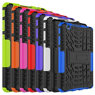 Недорогие Чехлы и кейсы для LG-Кейс для Назначение LG LG G Pad III 8.0 V525 Защита от удара / со стендом Кейс на заднюю панель броня Твердый ПК