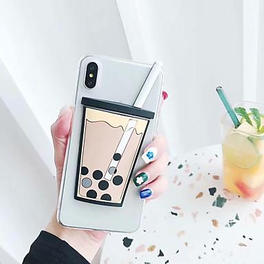 voordelige iPhone-hoesjes-hoesje Voor Apple iPhone XS / iPhone XR / iPhone XS Max Mat Achterkant Voedsel Hard TPU