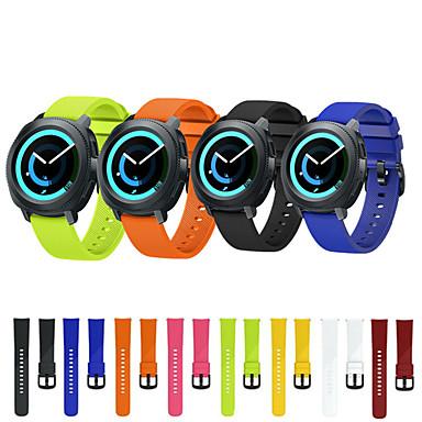voordelige Horlogebandjes voor Samsung-Horlogeband voor Gear Sport / Gear S2 Classic Samsung Galaxy Sportband Silicone Polsband