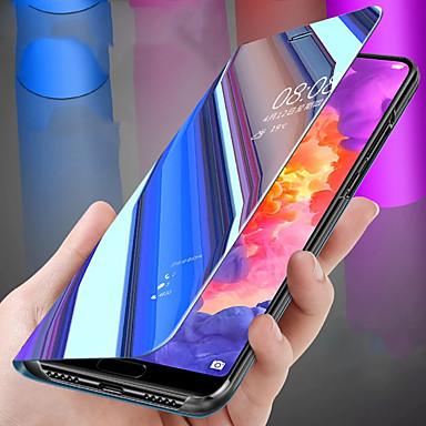 [$9 99] Case For Huawei Huawei Nova 3i / Huawei Honor 8X / Huawei Honor 8X  Max Plating / Mirror / Flip Full Body Cases Solid Colored Hard PC / Silica