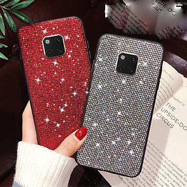 voordelige Huawei Mate hoesjes / covers-hoesje Voor Huawei Huawei P20 / Huawei P20 Pro / P10 Plus Glitterglans Achterkant Glitterglans Hard TPU