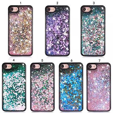 voordelige iPhone-hoesjes-hoesje Voor Apple iPhone XS / iPhone XR / iPhone XS Max Schokbestendig / Stofbestendig / Ultradun Achterkant Glitterglans Hard PC / DHZ