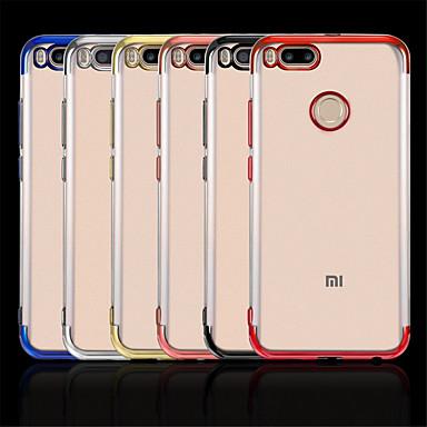 Недорогие Чехлы и кейсы для Xiaomi-Кейс для Назначение Xiaomi Xiaomi Mi Max 3 / Xiaomi Mi Mix 2 / Xiaomi Mi Mix 2S Покрытие Кейс на заднюю панель Прозрачный Мягкий ТПУ / Xiaomi Mi 6