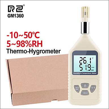 rz gm1360 profesionalni hygrothermograph higrometar termometar ručni digitalni vlažnost temperature metar