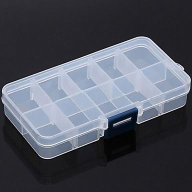 olcso Biztonságos utazás-Tárolódoboz / Elsősegély doboz / Helytakarékos kompressziós zsákok Állítható PP (Polypropylene) 13*6*2.2 cm cm