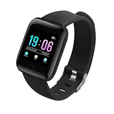 D13 للجنسين سوار الذكية Android iOS بلوتوث Smart رياضات ضد الماء رصد معدل ضربات القلب أصفر فاتح عداد الخطى تذكرة بالاتصال متتبع النشاط متتبع النوم أجد هاتفي
