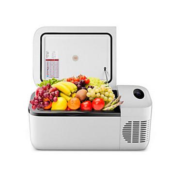 olcso Újdonságok-legvilágosabb 12l autós hűtőszekrény érintőképernyős vezérlés / intelligens állandó hőmérséklet, az alsó határ elérheti a -20 ° c 12/24/220 v