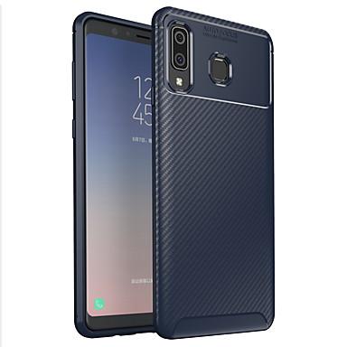 abordables Fundas / Carcasas para Galaxy Serie A-Funda Para Samsung Galaxy A9 Star Congelada Funda Trasera Un Color Suave TPU