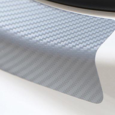 voordelige Automotive buitentoebehoren-Universele 4 stks 60 cm x 6.7 cm sill scuff anti scratch koolstofvezel auto deur sticker auto-accessoires styling