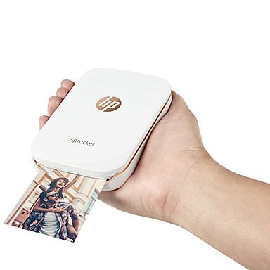 povoljno Ured i škola-JEPOD Jepod HP sprocket USB Bluetooth Početna fotografija Zero Ink Printer 203 DPI