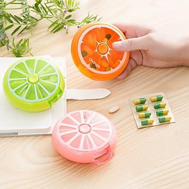 olcso Biztonságos utazás-Gyógyszeres doboz / tok utazáshoz / Elsősegély doboz Műanyag Hordozható Slatki