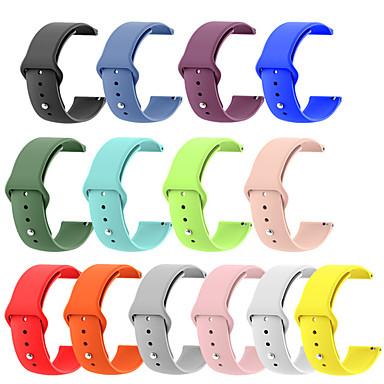 Недорогие Часы для Samsung-Ремешок для часов для Gear 2 R380 / Gear 2 Neo R381 / Gear Live Samsung Galaxy Спортивный ремешок силиконовый Повязка на запястье