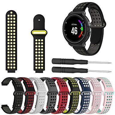 voordelige Smartwatch-accessoires-Horlogeband voor Approach S6 / Approach S5 / Approach S20 Garmin Sportband / DHZ Gereedschap Silicone Polsband