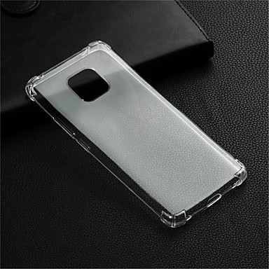voordelige Huawei Mate hoesjes / covers-hoesje Voor Huawei Huawei Honor 10 / Honor 9 / Huawei Honor 9 Lite Schokbestendig / Transparant Achterkant Transparant Zacht TPU