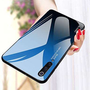 رخيصةأون Xiaomi أغطية / كفرات-غطاء من أجل Xiaomi Xiaomi Mi Max 3 / Xiaomi Mi 8 / Xiaomi Mi 8 Lite ضد الصدمات غطاء خلفي لون متغاير قاسي TPU / زجاج مقوى / Xiaomi Mi 6