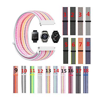 baratos Watch Bands for LG-Pulseiras de Relógio para LG G Watch W100 / LG G Watch R W110 LG Pulseira Esportiva Náilon Tira de Pulso