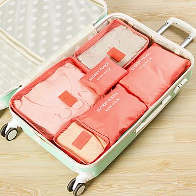 olcso Utazó bőröndök-Poggyászrendező utazáshoz / Utazókészlet Nagy kapacitás / Hordozható / Porbiztos mert Nettó / Műanyag 37.5*27*12 cm Összes / Uniszex Utazás / Tartozékok táska / Cipőtároló zsák / WC-táska