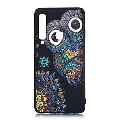 voordelige Galaxy A-serie hoesjes / covers-hoesje Voor Samsung Galaxy A6 (2018) / A6+ (2018) / Galaxy A7(2018) Mat / Patroon Achterkant Tegel Zacht TPU