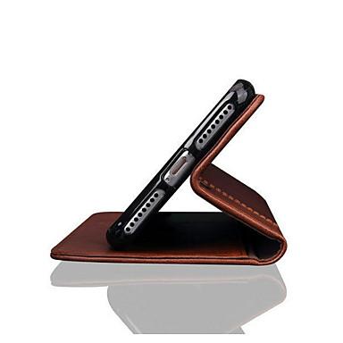 Недорогие Кейсы для iPhone 6-Кейс для Назначение Apple iPhone XS / iPhone XR / iPhone XS Max Бумажник для карт / Защита от удара Чехол Однотонный Мягкий ТПУ