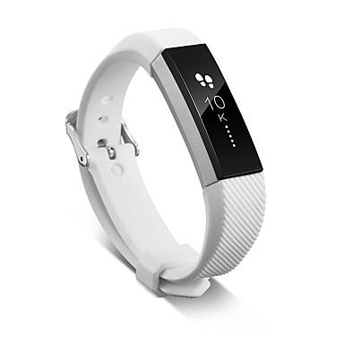 Недорогие Аксессуары для смарт-часов-Ремешок для часов для Fitbit ZIP Fitbit Классическая застежка силиконовый Повязка на запястье