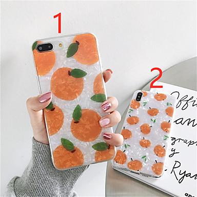 Недорогие Кейсы для iPhone X-чехол для яблока iphone xr / iphone xs max шаблон задняя крышка еда мягкое тпу для iphone x / xs / 6/6 плюс / 6s / 6s плюс / 7/7 плюс / 8/8 плюс