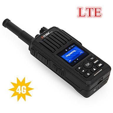 olcso Walkie Talkies-2db-os hálózati rádió 2g / 3g / 4g sim kártyával ltewcdma / gsm praktikus cd990 rádiós hangszóró