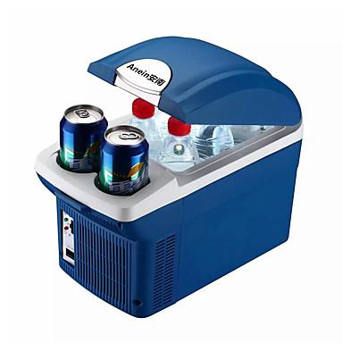 olcso Újdonságok-legfeljebb 8l autó hűtőszekrény mini hűtőszekrény fagyasztó vezetéshez, utazáshoz, horgászathoz, kültéri és otthoni használatra, az alsó határ elérheti az 5 ° c-ot