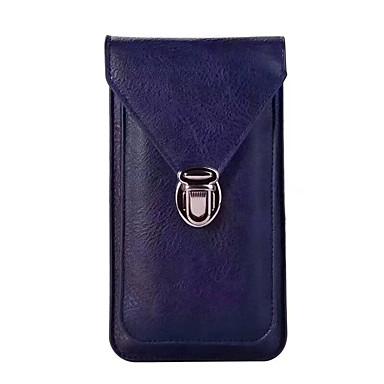Недорогие Чехлы и кейсы для Motorola-Кейс для Назначение Blackberry / Acer / KOBO Huawei Honor 10 / Honor V20 / Honor 9 Кошелек Поясные сумки Однотонный Мягкий Кожа PU