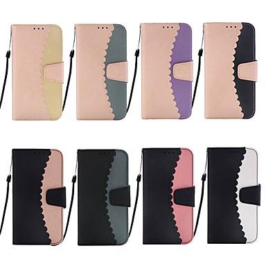 voordelige Huawei Mate hoesjes / covers-hoesje Voor Huawei Huawei P20 / Huawei P20 Pro / Huawei P20 lite Portemonnee / Kaarthouder / met standaard Volledig hoesje Tegel Hard PU-nahka