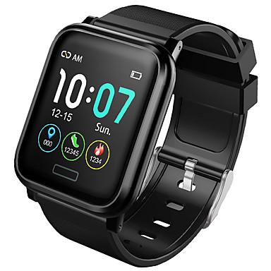 رخيصةأون ساعات ذكية-B1 رجالي سمارت ووتش Android iOS بلوتوث ضد الماء شاشة لمس رصد معدل ضربات القلب أصفر فاتح رياضات المشي عداد الخطى تذكرة بالاتصال متتبع النشاط متتبع النوم