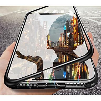 voordelige Huawei Mate hoesjes / covers-hoesje Voor Huawei Huawei Nova 3i / Huawei Note 10 / Huawei P20 Doorzichtig Volledig hoesje Effen Hard Gehard glas / P10 Plus / P10 Lite / P10