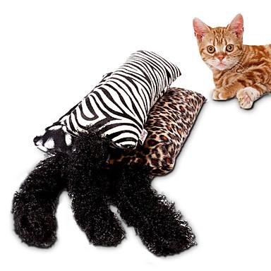 رخيصةأون لعب-متفاعل مضايقات التدريب قطط حيوانات أليفة ألعاب 1PC مسموح باصطحاب الحيوانات الأليفة شعر / ألعاب النسيج لعبة الكرتون قماش قطيفة هدية