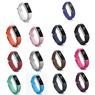 abordables Accesorios para Smartwatch-Ver Banda para Fitbit Alta Fitbit Hebilla Clásica Cerámica / Silicona Correa de Muñeca