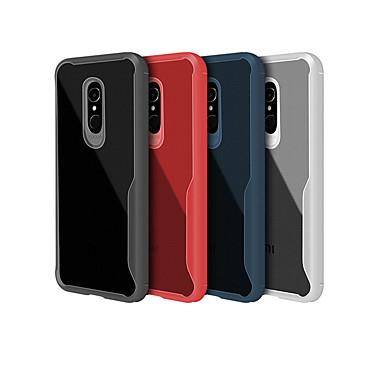 Недорогие Чехлы и кейсы для Xiaomi-Кейс для Назначение Xiaomi Redmi Note 5A / Xiaomi Redmi Note 5 Pro / Xiaomi Redmi Note 6 Ультратонкий / Прозрачный Кейс на заднюю панель Однотонный Мягкий ТПУ / Xiaomi Redmi Note 4X / Xiaomi Redmi 4a