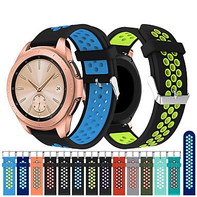 Недорогие Часы для Samsung-Ремешок для часов для Samsung Galaxy Watch 42 Samsung Galaxy Спортивный ремешок силиконовый Повязка на запястье