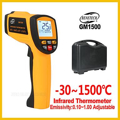 Benetech digitalni infracrveni termometar bezkontaktni regulator temperature elektronski gm1500 unutarnji / vanjski ir laser termometar