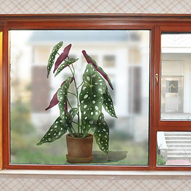 فيلم نافذة وملصقات زخرفة معاصر / 3D وردة PVC ملصق النافذة / ضد الانعكاس