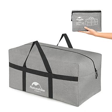 olcso Utazó bőröndök-Naturehike Nagy kapacitás Összecsukható Tömörítés Tárolási készlet Külső Szabadtéri Műanyag Szürke