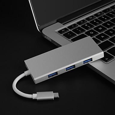 olcso Kábelek & adapterek-OTG / HDMI / C típusú Adaptor / Kábel <1m / 3ft Minden egyben / OTG Műanyag és fém / ABS + PC USB kábeladapter Kompatibilitás Macbook