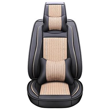 olcso Beltéri autós kiegészítők-üzleti első hátsó univerzális autósülés a fejtámlák és a derékpárnák készletekhez luxus járművek tartozékai univerzális / poliészter / műbőr / pamut üzlet