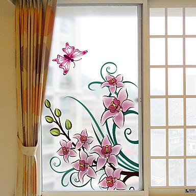 فيلم نافذة وملصقات زخرفة معاصر / 3D هندسي PVC ملصق النافذة / ضد الانعكاس
