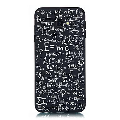 voordelige Galaxy J-serie hoesjes / covers-hoesje Voor Samsung Galaxy J7 Prime / J7 (2017) / J5 Prime Mat / Patroon Achterkant Geometrisch patroon Zacht TPU