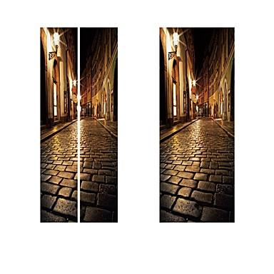 ملصقات الباب - لواصق مشهور / مناظر طبيعية غرفة الجلوس / غرفة النوم