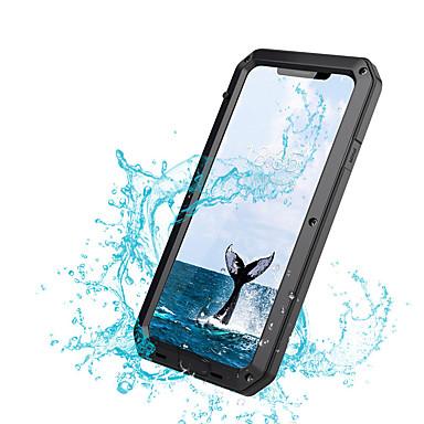 Недорогие Кейсы для iPhone 6-чехол для яблока iphone xs xs max противоударный пылезащитный водонепроницаемый корпус всего тела сплошной цвет твердого металла для iphone xr x 8 плюс 7 плюс 6 плюс 6 с 6