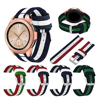 voordelige Smartwatch-accessoires-Horlogeband voor Gear S3 Frontier / Gear S3 Classic / Samsung Galaxy Watch 46 Samsung Galaxy Sportband Stof / Nylon Polsband