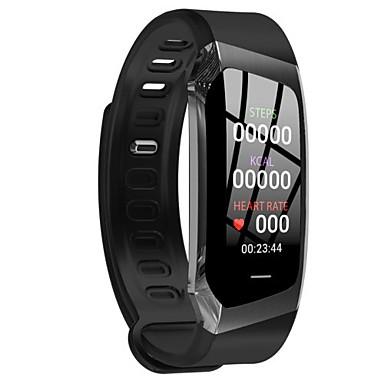 e18 smart watch bt 4.0 tracker fitness supporto notifica e fascia cardio da polso impermeabile per samsung / huawei / iphone