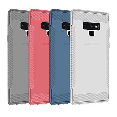 Недорогие Чехлы и кейсы для Galaxy Note-Кейс для Назначение SSamsung Galaxy Note 9 / Note 8 Ультратонкий / Полупрозрачный Кейс на заднюю панель Однотонный Мягкий ТПУ