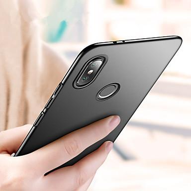 غطاء من أجل Xiaomi Xiaomi Mi Play / Xiaomi Mi 8 / Xiaomi Mi 8 SE ضد الصدمات / نحيف جداً / مثلج غطاء كامل للجسم لون سادة قاسي الكمبيوتر الشخصي / Xiaomi Mi 6