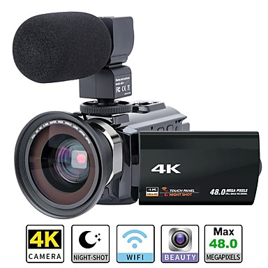 olcso Sport kamerák-QQT P13 videonapló Eltávolítható / Parti / Hot eladó 64 GB 1080P / 60fps / 120fps 16 mp 8X 1920 x 1080 Pixel 4.1 hüvelyk 16.0MP CMOS H.264 Állókép / Sorozat / Time-lapse Nem -4/3