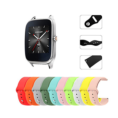 tanie Watch Band for ASUS-Watch Band na Asus ZenWatch 2 / Asus ZenWatch Asus Pasek sportowy Silikon Opaska na nadgarstek